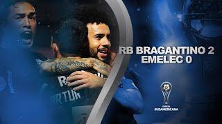Red Bull Bragantino vs. Emelec [2-0] | RESUMEN | Fecha 4 | CONMEBOL Sudamericana 2021