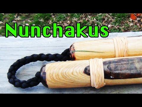 Survivor MANchukus - Challenge Tree - How to Make Nunchuks