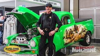 The Green Machine - Old School FJ Ute Showcar