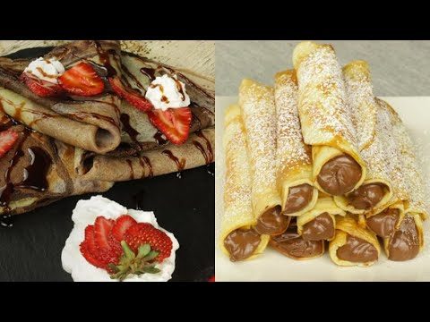 3 Recipes with crepes you will die for