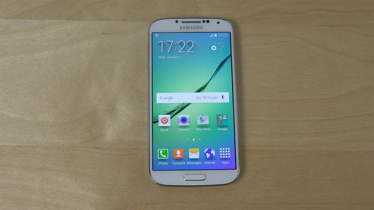 Samsung Galaxy S4 S6 ROM Port - Review (4K) - YouTube