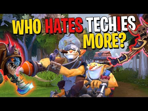 Does Clinkz or Slark Hate Techies More? - DotA 2