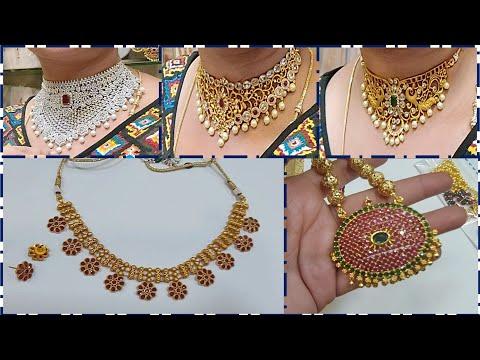 Chickpet Bangalore One Gram Gold Jewllery Shop/wholesale And Retail Price/imitation Jewellery Part 3
