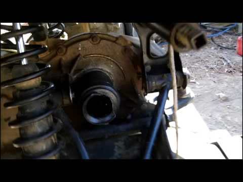 polaris cv axle removal