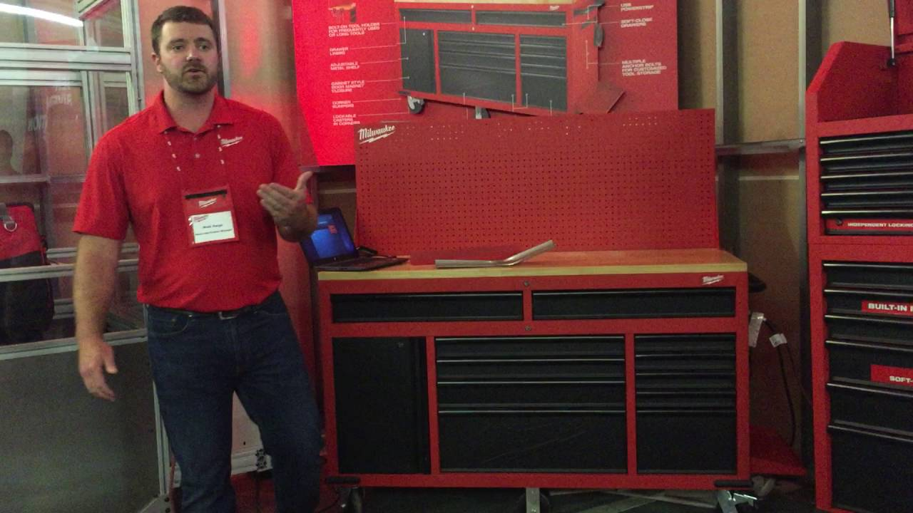 Milwaukee Tool 60 Quot Steel Mobile Workstation Youtube