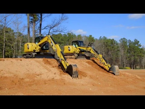 Cat® Mini Excavators