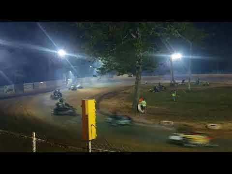Mike Kalman - Shellhammers Speedway Feature - 9/27/17