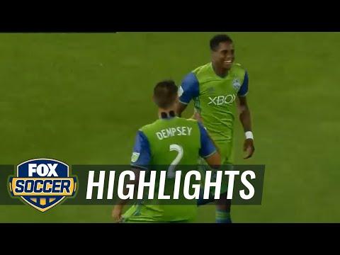 Colorado Rapids vs. Seattle Sounders FC | 2017 MLS Highlights