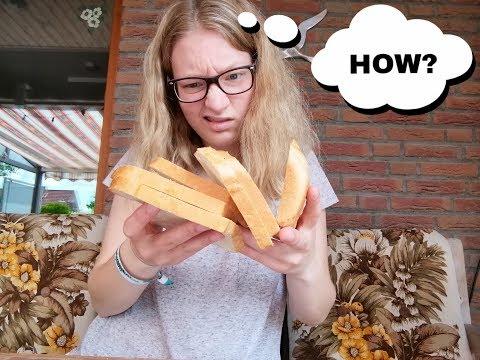 How To: Brot Schneiden (Schwierigkeitsgrad: Profi)