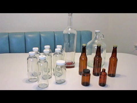 quick easy way to remove labels from glass bottles jars youtube