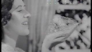 Persil washing powder 1959 TV commercial