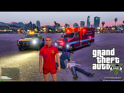GTA 5 - Rescue Mod V - LIFEGUARD/ COAST GUARD 5 - (GTA 5 Res