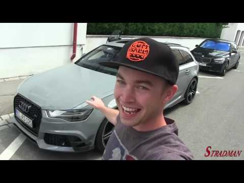 Supercars 300kph (186mph) in the Audi RS6 ABT on the Autobahn