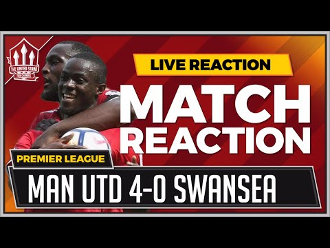 Swansea City 0-4 Manchester United | BAILLY, LUKAKU, POGBA, MARTIAL Goals Win It!