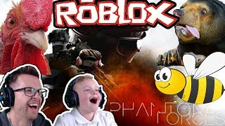 💀 WIE IN ROBLOX PHANTOM FORCES! 😂 FUNNY MOMENTS GAMEPLAY VIDEO FÜR KIDS