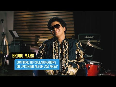 Bruno Mars Talks '24K Magic' Album