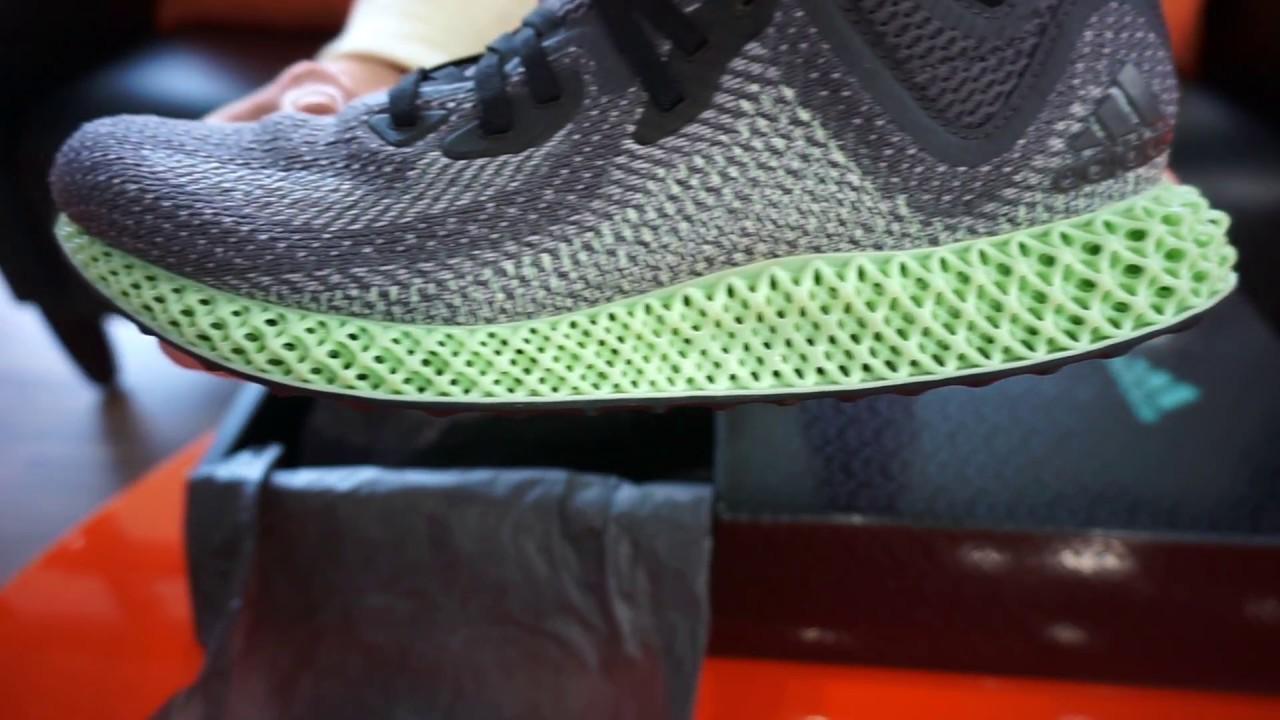 best website 4ed00 fc3bd Adidas AlphaEDGE 4D LTD (Limited Edition Running Shoe) - RevUp Sports  Unboxing