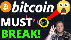 CRAZY!! BITCOIN MUST BREAK THIS SPECIFIC PRICE TO REMAIN BULLISH!! $1 BILLION BITCOIN MOVED!!