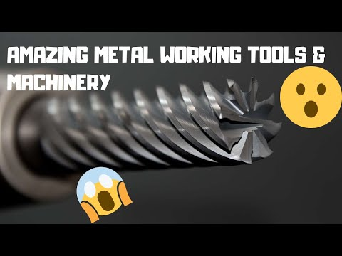 Amazing Metal Working Tools & Machinery! 👍 Great Video Compilation!