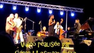 """Raphaël Lemonnier Septet et Tricia Evy à Agde  le 4 juillet 2015 """"Now Baby Or Never"""""""