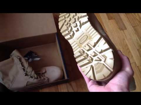 Wellco Tan Hot Weather Combat Boot Review