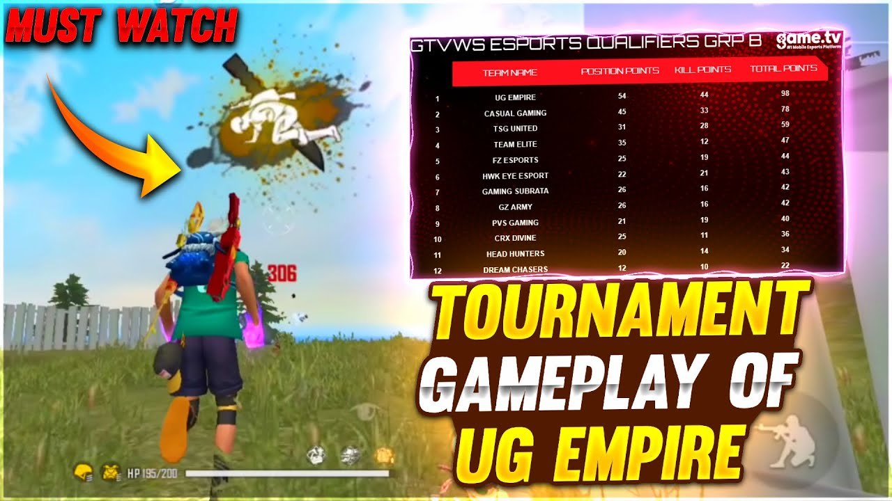Hatrick of Booyah in Tournament⚡|| Unstoppable UG Empire ❤️🔥