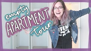 Empty London Apartment Tour! 🇬🇧🏠