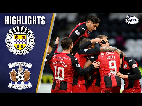 St Mirren Kilmarnock Goals And Highlights