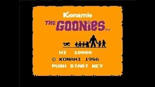 The Goonies прохождение (J)   Игра на (Dendy, Nes, Famicom, 8 bit) Konami 1986 Стрим HD RUS