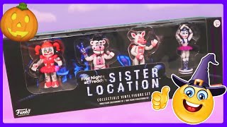 FNAF Sister Location Funko Playset Toy Unboxing! Five Nights at Freddy