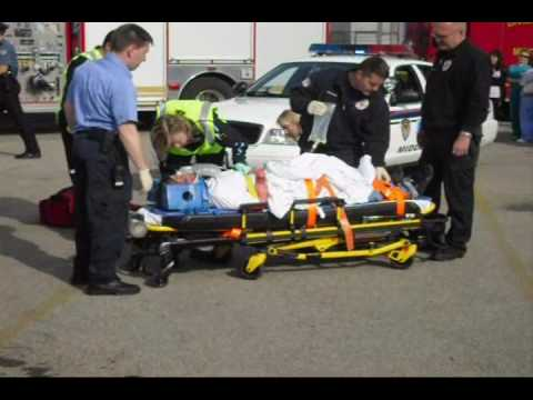 Middletown High School Mock Car Crash for Prom