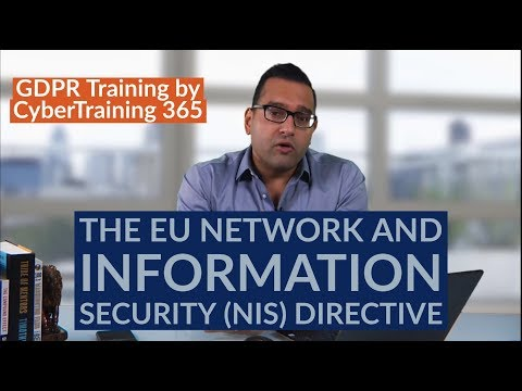 NEW EU Network and Information Security (NIS) Directive