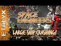 Space Engineers - Large Ship Collisions!