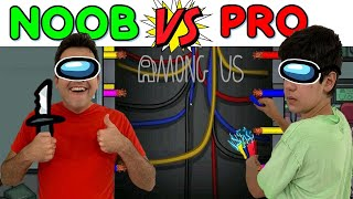 AMONG US NA VIDA REAL 3 | NOOB vs PRO | PEDRO MAIA