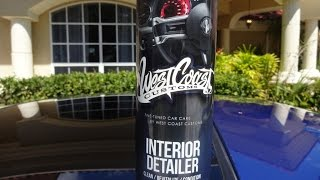 West Coast Customs Interior Detailer Review and test on my 2001 Honda Prelude
