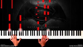 Baixar - Hans Zimmer Junkie Xl Batman V Superman Beautiful Lie Piano Version Sheet Music Grátis