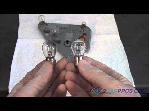 Mercedes bulb replacement tail lamp brake light diy in for Mercedes benz light bulb replacement