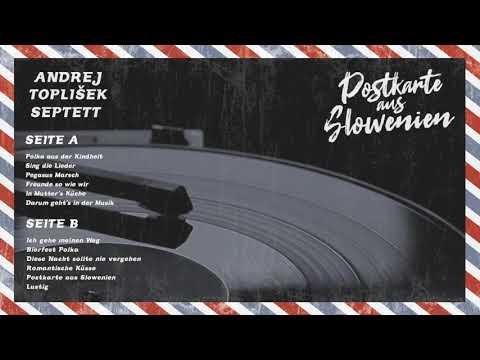 ANDREJ TOPLIŠEK SEPTETT - LP Postkarte aus Slowenien NEU 2019!