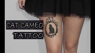 CAT CAMEO TATTOO (BodyPaint) | PURPLE VALKYR