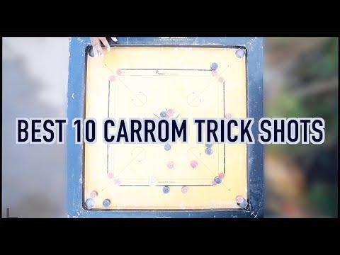 Carrom board trick shots