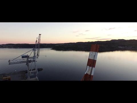 Dji Phantom 3 Advanced Cinematic Footage - Midnight in Larvik