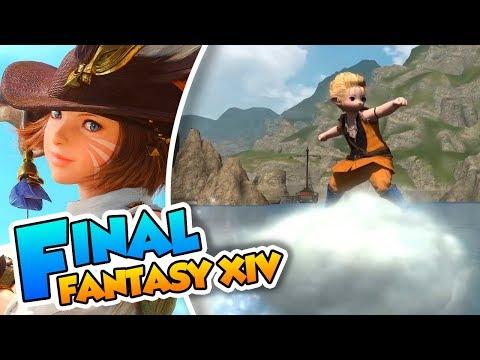 ¡Haciendo el idiota con una Lalafell! - Final Fantasy XIV (PC) DSimphony y Naishys