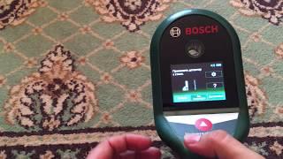 Распаковка и краткий обзор детектора проводки Bosch UniversalDetect