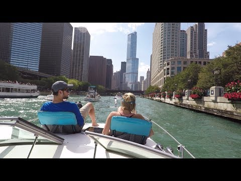 Labor Day Weekend 2017 Chicago River Boat ride