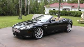 Review and Test Drive of a 2006 Aston Martin Volante and an Update on the Coming Channel Changes
