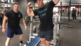 LIVE RAW CHEST WORKOUT