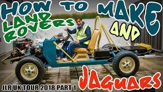 Jaguar Land Rover UK Special Tour - Part 1: How they make them!