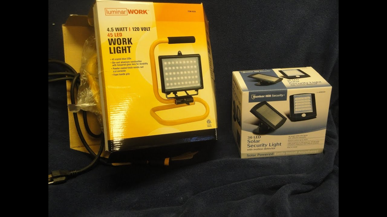 Lovely Review Of Two Harbor Freight LED Lights Home Design Ideas