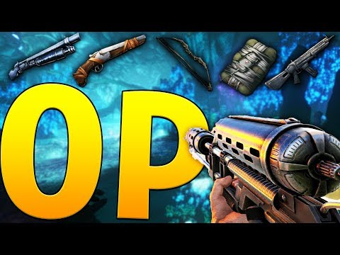 MOST OVERPOWERED WEAPONS! - ARK SURVIVAL EVOLVED ABERRATION EXPANSION #22