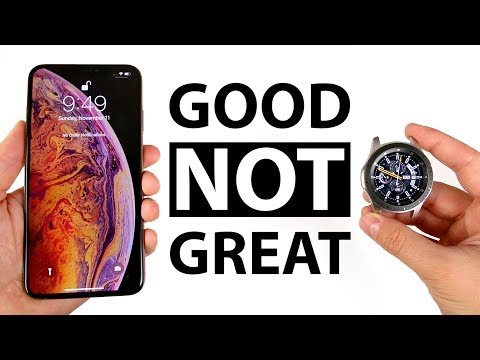 Galaxy Watch With An IPhone Xs Max. Is It Worth It?